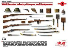 ICM Models 1/35 WWI Russian Infantry Weapon and Equipment