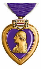 Framed Print - American Military Order of the Purple Heart Medal (Picture Poster