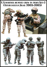 Evolution Miniatures 1/35 M-35063 -  U.S. marines humvee crew in fight