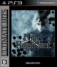 USED NieR Replicant (Ultimate Hits) Japan Import PS3