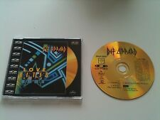 DEF LEPPARD - LOVE BITES (CD/Video single Gold Edition Uk import) RARE