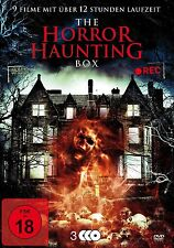 9x Haus Grusel Filme THE HORROR HAUNTING BOX Bates AMITYVILLE House DVD Edition