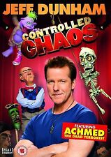 Controlled Chaos Jeff Dunham New Sealed R2 UK DVD Feat. Achmed Dead Terrorist