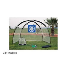 Golf Practice Set Mat Driving Net Chipping Net Bag Cage Tee Indoor Outdoor Ball