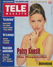 TELE MAGAZYN 98/11 (6/3/98) PATSY KENSIT MIA FARROW WOODY ALLEN GARY OLDMAN