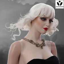 White color female wigs short wave wigs female hair Japan's wig women hair
