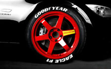 "GoodYear Eagle F1 TIRE LETTERING Permanent - 1"" For 20"" and 21"" Tires(8 decals)"