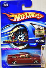 HOT WHEELS 2006 FIRST EDITIONS NISSAN TITAN #031 RED FACTORY SEALED