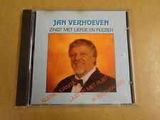 CD / JAN VERHOEVEN - ZINGT MET LIEFDE EN PLEZIER