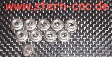 10x Radmuttern M6 Edelstahl selbstsichernd REELY HPI  FG Carson usw.  HD Tuning