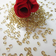5000 Gold Scatter Crystal 45mm Table Diamonds Acrylic Confetti For Wedding Decor