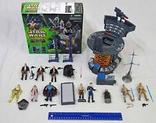 Star Wars Hasbro 3 3/4 Bespin Lot Carbon Freezing Chamber + 12 Figures
