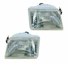 Fits 93-97 Ford Ranger Headlamp Head Light Headlight Lamp - PAIR