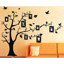 New DIY Home Family Decor Black Tree Removable Decal Room Wall Sticker Vinyl Art