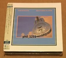 new Dire Straits Brothers In Arms Japan SHM SACD Mini-LP UIGY-9547