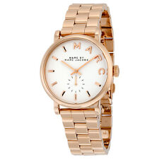 MBM3244 Marc by Marc Jacobs Silver Dial Rose Gold-tone Ladies Watch