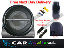 "Car Van  Audio Amplified Active Subwoofer 20cm 8"" Ultra slim to fit in all cars"