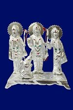 White Metal statue/carving idol of lord Ram,Laxman,Hanuman & Maa Sita