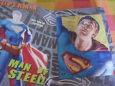 Grand superman puzzle book with reusable stickers