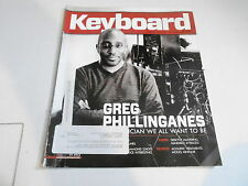 JULY 2012 KEYBOARD music magazine GREG PHILLINGANES