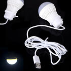 5W Mobile Mini LED Bulb USB Light Bulb Plastic White Lamp for Power Bank Laptop