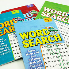 Word Search Puzzle Books - 4 Volumes