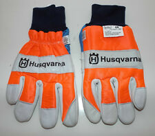 HUSQVARNA CHAINSAW PROTECTIVE GLOVES - Size: 8 , Fantastic condition