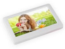 """NUOVO Bianco EvoDigitals 16gb 4.3"""" Schermo Touch mp5 mp4 mp3 lettore video + uscita TV"""