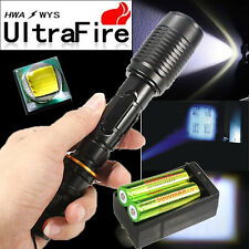 Ultrafire CREE 6000lm XM-LT6 LED Rechargeable Flashlight Torch +Battery +Charger