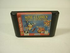 SONIC CLASSICS 3 Games in 1 Cartridge - Sega Genesis - TESTED - !!!!