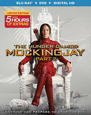 The Hunger Games: Mockingjay, Part 2 (Blu-ray/DVD, 2016, 2-Disc.No Digital...EXC