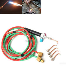 Jewelers Mini Gas Little Welding Soldering Torch & 5 Tips Brazing Cutting Tool