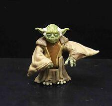 """Star Wars Clone Wars Yoda Jedi Master ACTION FIGURE 2.5"""" #JH7"""