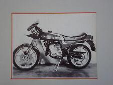 - RITAGLIO DI GIORNALE 1982 MOTO VILLA 125 SEBRING