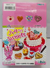 Miniatures Heart Of Sweets Box Set - Re-ment RARE , h#2