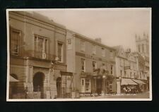 Devon HONITON High St Dolphin Hotel Market House 1929 RP PPC