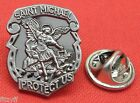 St Michael Lapel Hat Tie Pin Badge Saint Guardian Angel Archangel Miguel Brooch