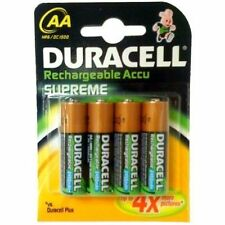 16 DURACELL AA RECHARGEABLE BATTERIES 2450 mAh 2450mAh 1.2V NiMH NEW SEALED PACK