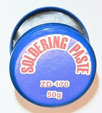 Solder Flux Paste for Welding, Electronics Soldering, 50g, Rosin-free