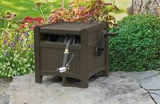 Hose Reel With Tracker Hideaway to 100' Outdoor Patio Garden Lawn Storage Holder