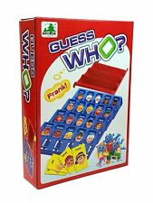 Party Family Board Game Travel GUESS WHO the Mystery Face Game (For 2+ Players)