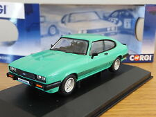 CORGI VANGUARDS FORD CAPRI MK3 3.0S PEPPERMINT SEA GREEN CAR MODEL VA10815A 1:43