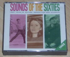 Sounds of the Sixties 1963 - 3 CD 60s - Reader's Digest - Best Pop Rock