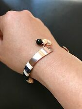 MIMCO ENTHRAL OPEN CUFF NWT RRP $79.95 IN BLACK Rose Gold