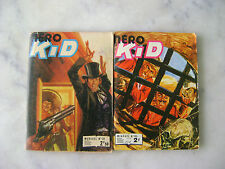 Lot 2 petits formats - NERO KID n° 45 / 72 - Imperia