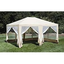 ***12X15FT Party TENT/GAZEBO/SCREEN HOUSE/ CANOPY - BEIGE
