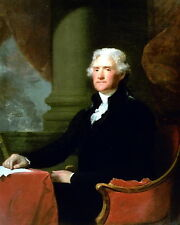 New 8x10 Photo: Thomas Jefferson, 3rd President of the United States