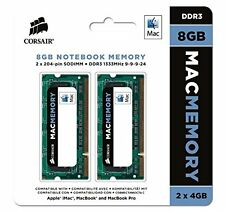 Corsair Apple Certified 8GB (2x4GB) DDR3 1333 MHz (PC3 10666) Laptop Memory (..