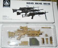 1/6 Arms-Rack Modern US Military M249 Light Machine Gun  SAND Color MIB