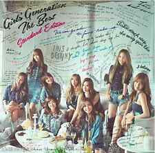 SNSD GIRLS GENERATION THE BEST Standard Edition CD Japan UPCH-20377 NEW Sealed